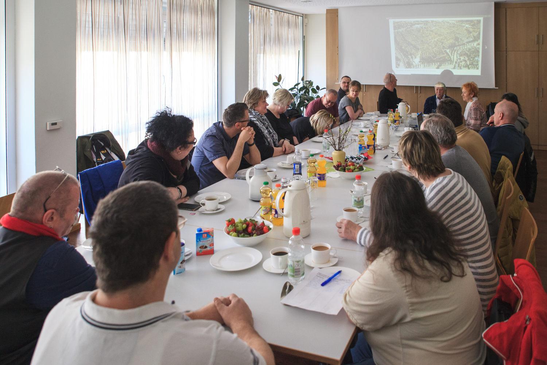 DV Erfurt zu Besuch in Leipzig Weggefährten