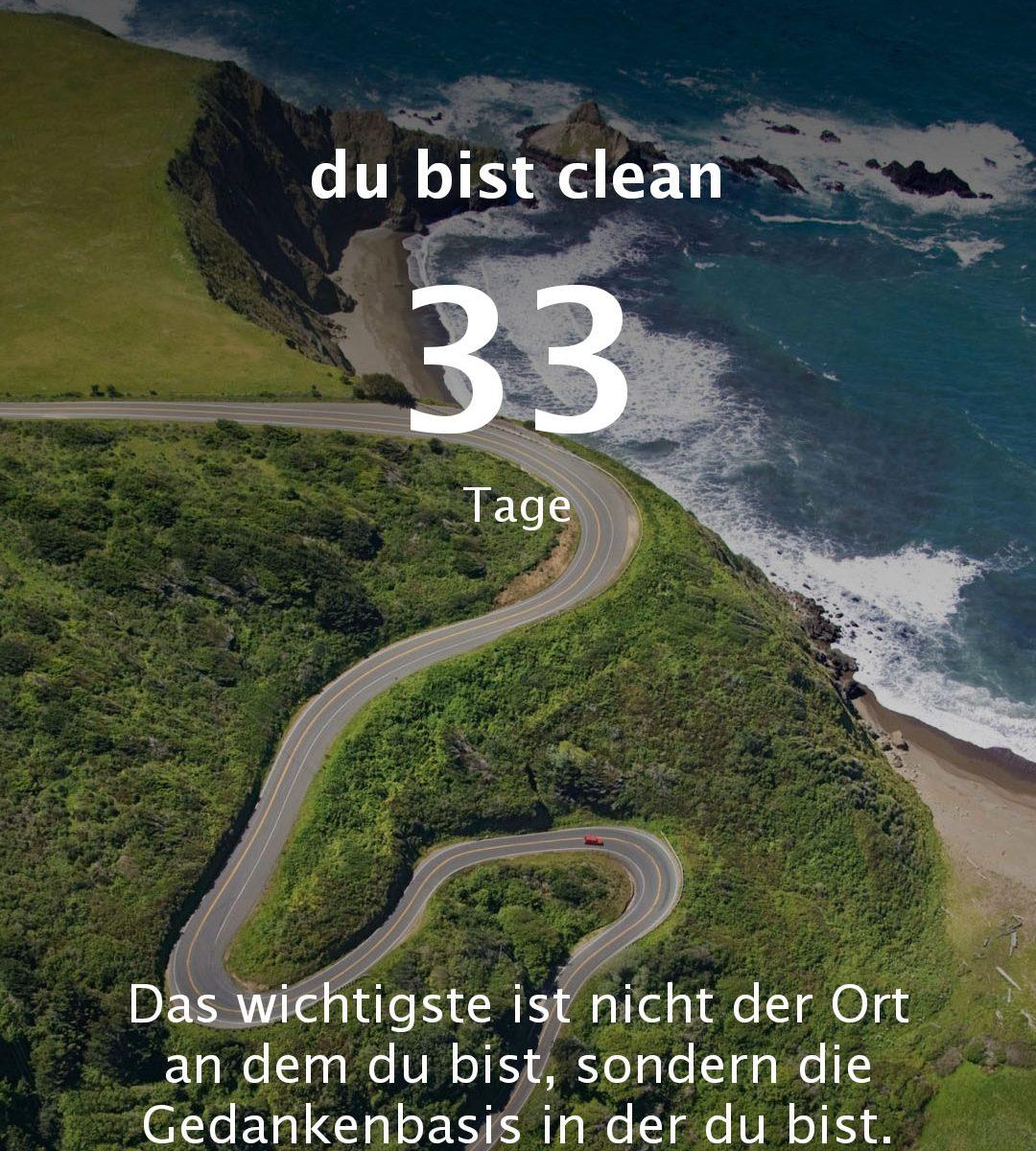 App Cleanday Clean Day Suchtdruck Abstinenztage zählen