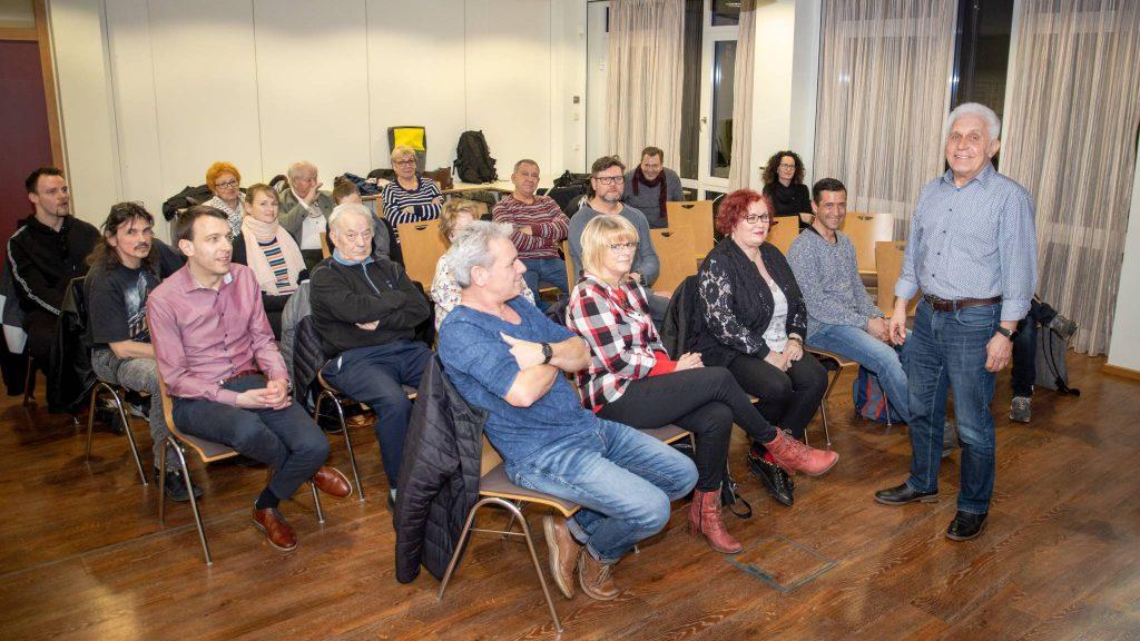 Burkhard Thom zu Besuch beim Kreuzbund Leipzig