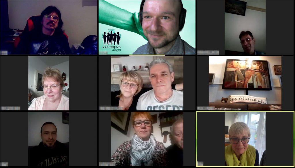 Kreuzbund Selbsthilfe Virtuell Konferenz Video in Zeiten von Corona
